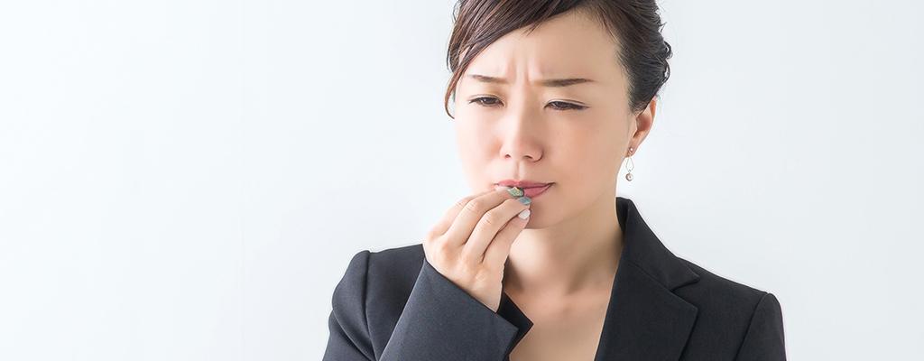 口内炎がしょっちゅうできる・・・何でできるの?