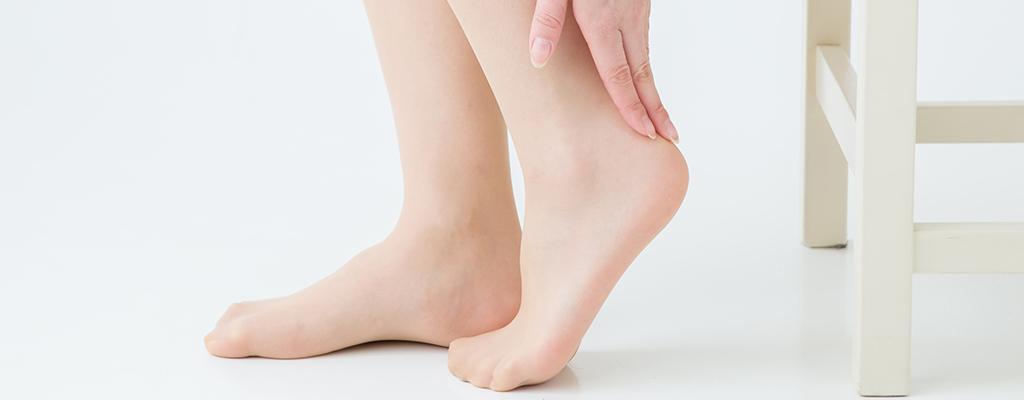 足のかかとの角質、どうすればいいの?