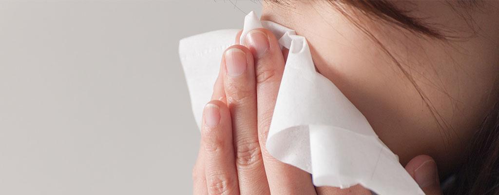 風邪の鼻水と花粉症の鼻水は違う?